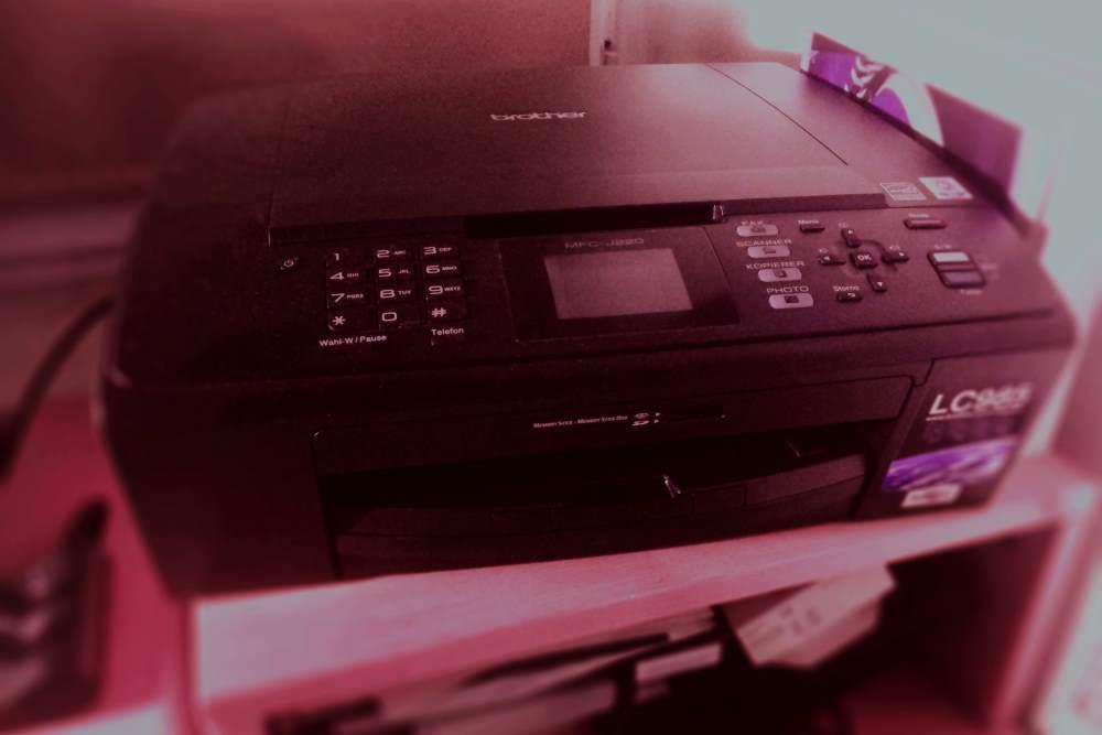 Die heimtückischen Geräusche meines Druckers