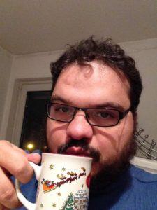 Jens van der Kreet: Mitglied der BartBroAuthors, Autor, Blogger, Soziologe. Trinkt auch mal einen Tee. Foto: Jens van der Kreet