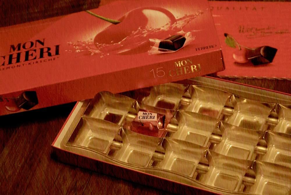 Die Pralinenschachtel ist leer… #AmoristPralinenhändler