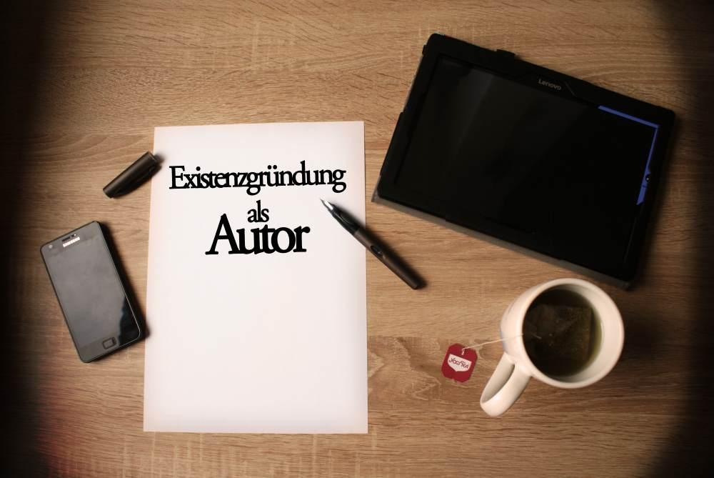 Existenzgründung als Autor
