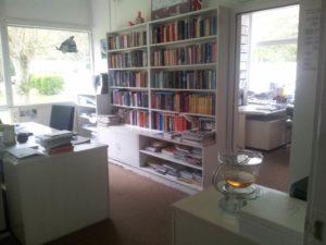 Lektoren sind auch nur Menschen: Ein ganz gewöhnliches Büro aus dem Sachbuchflur