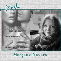 Margaux Navara kann man nur live auf Buchmessen antreffen. Bilder möchte sie nicht von sich im Internet veröffentlichen.