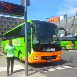 Irgendwann kam der Flixbus. Hier der Beweis.