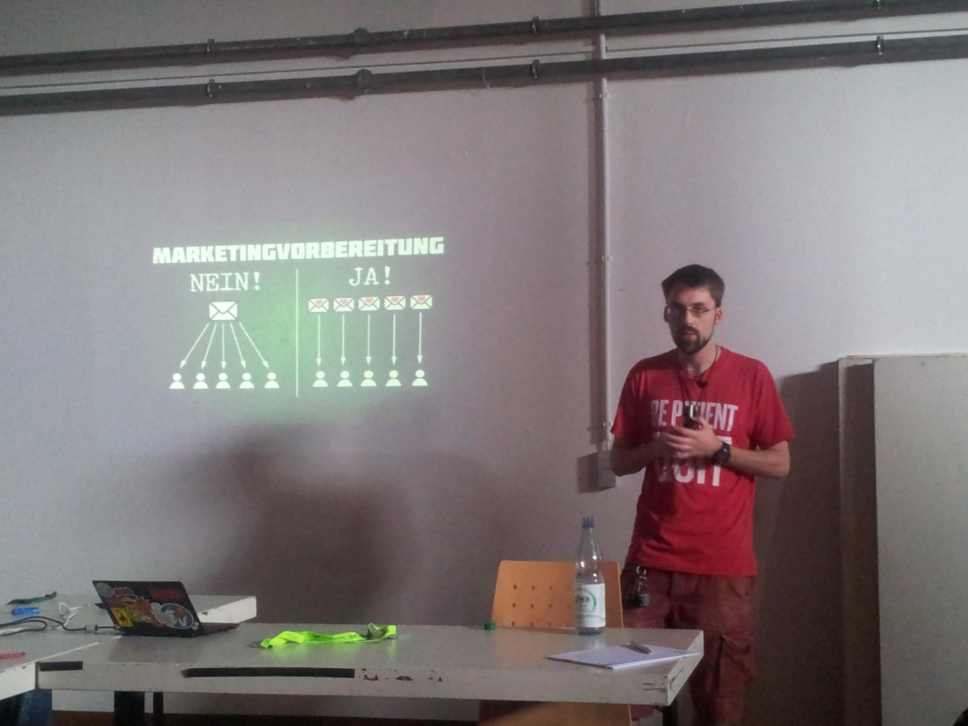 Crowdfunding für Selfpublisher mit Benjamin Spang