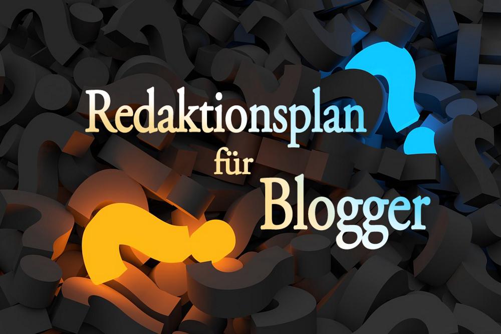 Redaktionsplan für Blogger
