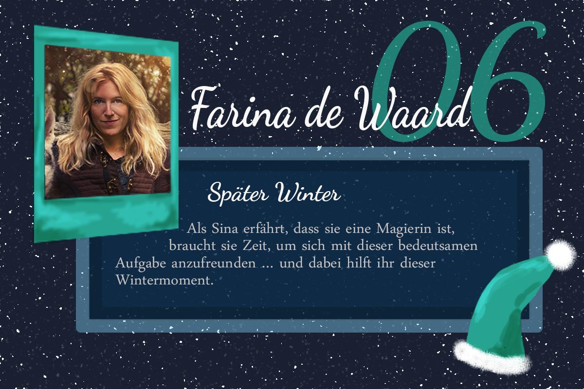 Später Winter – #24Autoren mit Farina de Waard