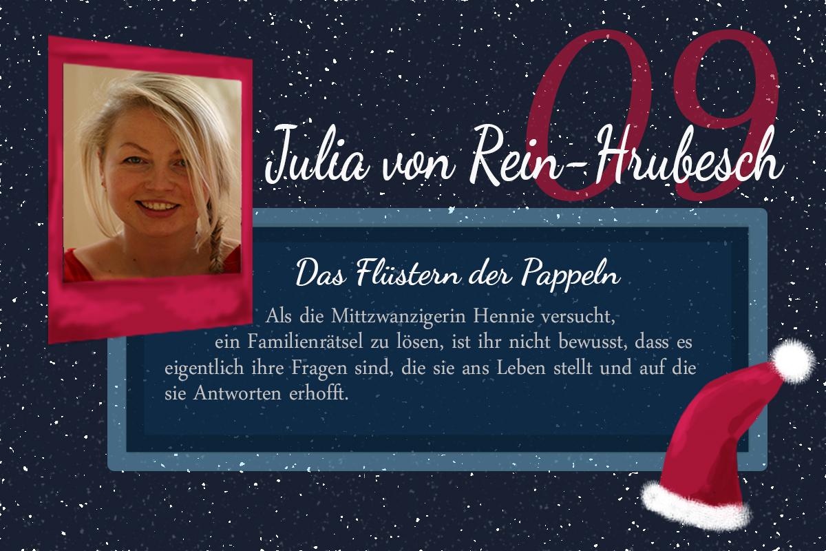 Das Flüstern der Pappeln – #24Autoren mit Julia von Rein-Hrubesch