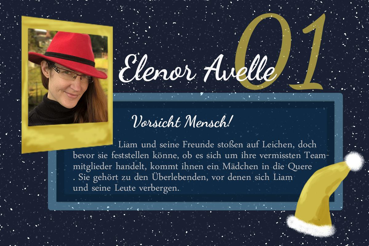 Vorsicht Mensch! #24Autoren mit Elenor Avelle