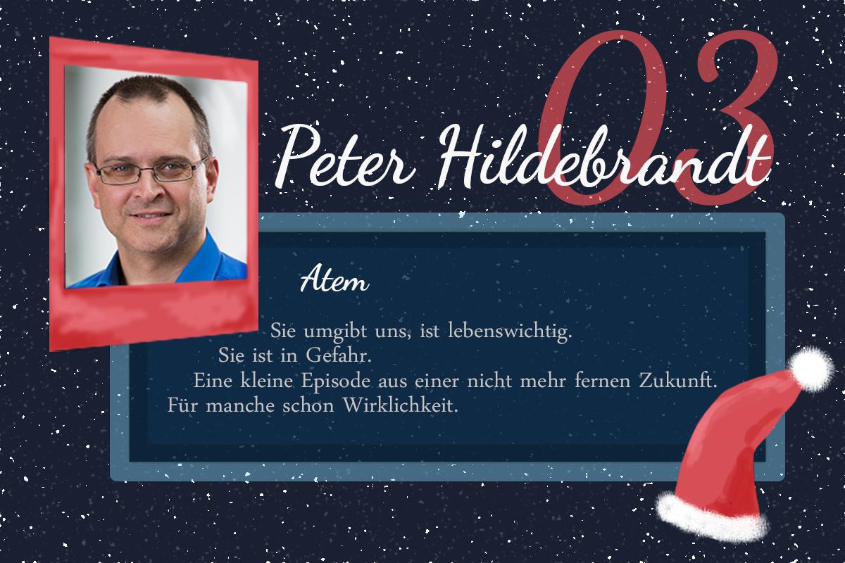 Atem – #24Autoren mit Peter Hildebrandt