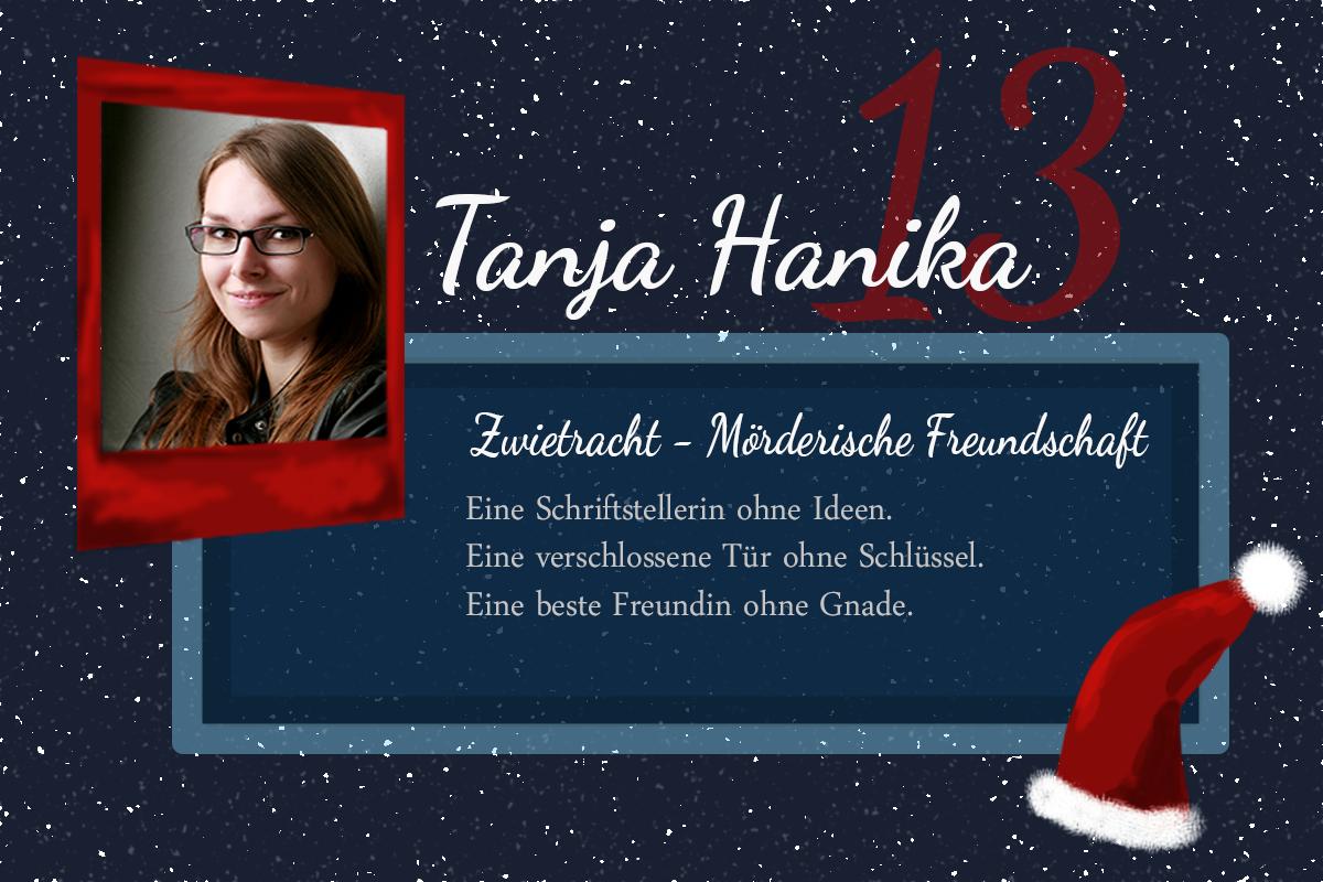 Zwietracht – Mörderische Freundschaft – #24Autoren mit Tanja Hanika