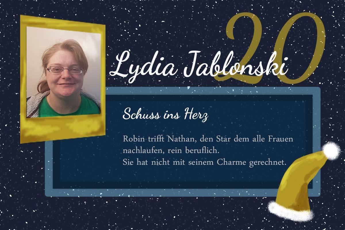 Schuss ins Herz – #24Autoren mit Lydia Jablonski