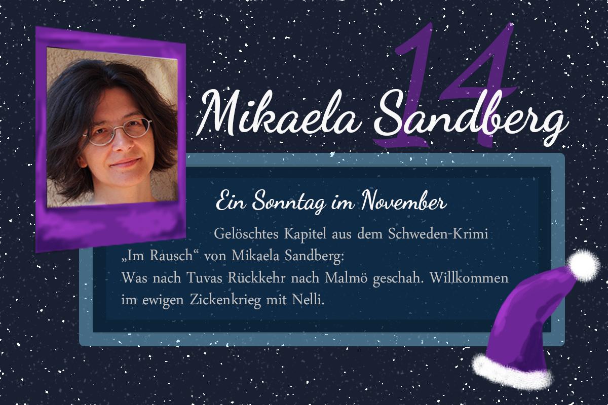 Ein Sonntag im November – #24Autoren mit Mikaela Sandberg