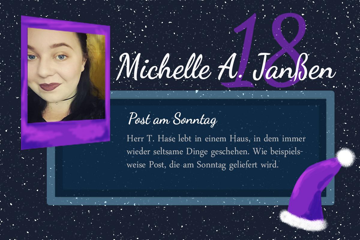 Post am Sonntag – #24Autoren mit Michelle A. Janßen