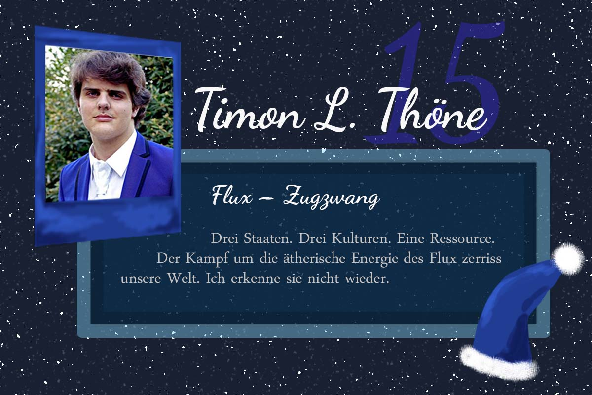FLUX – Zugzwang – #24Autoren mit Timon L. Thöne