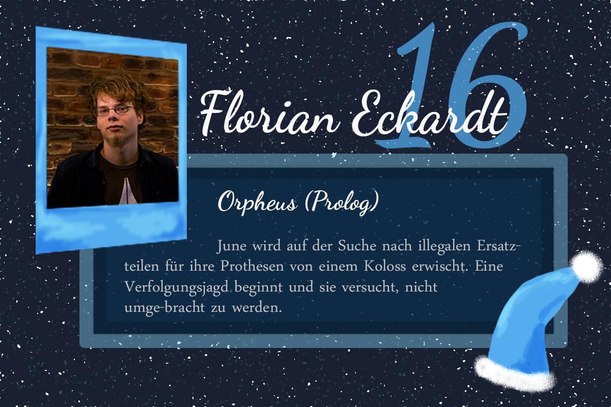 Orpheus – #24Autoren mit Florian Eckardt