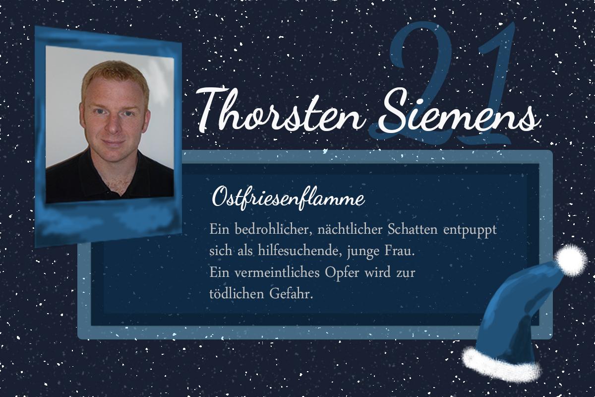 Ostfriesenflamme – #24Autoren mit Thorsten Siemens