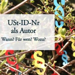 USt-ID-Nr als Autor