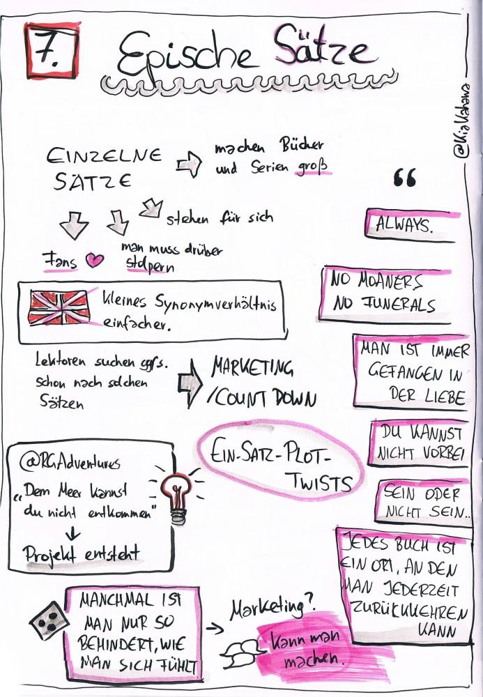 Epische Sätze auf dem Literaturcamp Hamburg