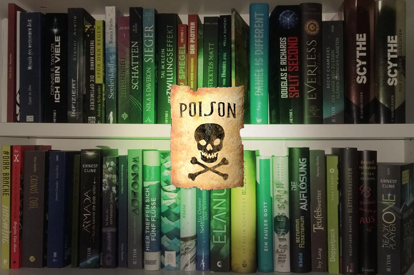 Bücher sind Gift.