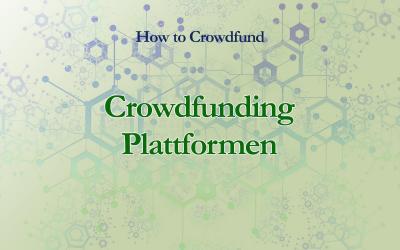 Die besten Crowdfunding Plattformen für Autoren