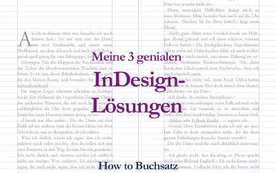 Diese 3 InDesign Buchsatz Ideen habe ich selbst entwickelt